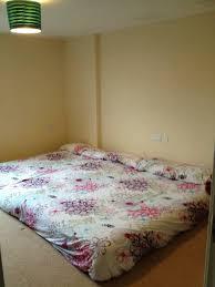 futon mattress on floor