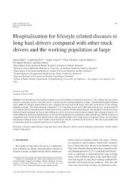 PDF) Hospitalization For Lifestyle Related Diseases In Long Haul ... Trees Us Route Driving Lifestyle Truck Driver Stock Photo Image Of Driver Shortage Raises Shipping Costs What To Expect During Class A Cdl Traing School Long Haul Truck Ukranagdiffusioncom 5 Important Things You Should Know About A Career In Trucking Best Jobs Truckersneed Quality T Shirt Trucker Lorry Hgv Scania Oilfield Vs Otr