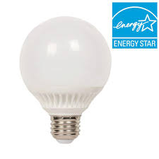westinghouse 60w equivalent warm white globe g25 dimmable led