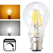 aliexpress buy 4w 8w 220v led b22 dimmable filament light
