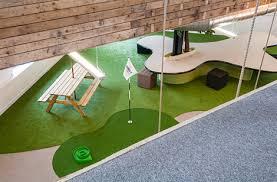 mini golf de bureau bureau sans bureaux office et culture