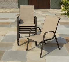 Stacking Steel Sling Patio Chair by Elegant Sling Patio Chair Patio Sling Chairs Family Patio