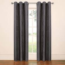Eclipse Blackout Curtains Smell amazon com eclipse tremont blackout grommet window panel 63 inch