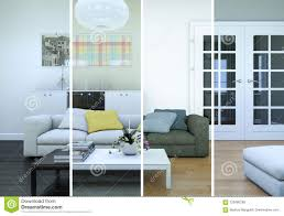 100 Loft Interior Design Ideas Splitted Color Variations Of A Modern Stock