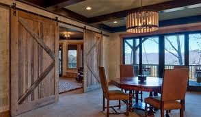 Very Small Dining Room Ideas Open Barn Door With 50 Ways To Use Interior Sliding