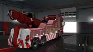 100 Tow Truck Simulator Scania Streamline Evacuator Fix V 10 Allmodsnet