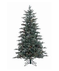 White Flocked Pencil Christmas Tree by Slim Pencil Christmas Trees Hayneedle