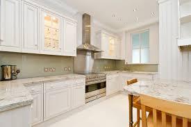 houzz backsplash kitchen transitional with cabinet with glass