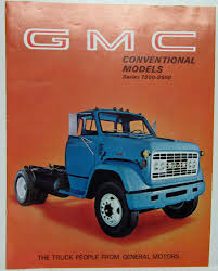 1969 GMC Trucks Conventional Models Series 7500-9500 Sales Brochure