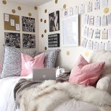 Inspiration From 10 Super Stylish Real Dorm Rooms College BedroomsCollege Bedroom DecorDorm