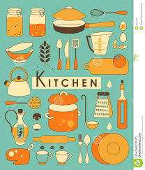 Retro Kitchen Signs Clipart 1