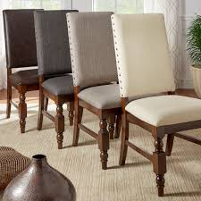 Flatiron Nailhead Upholstered Dining Chairs By Tribecca Home (Set Of ... Details About Set Of 2 Classic Parson Ding Chairs Living Room Nailhead Trim Tall Backrest Tan Parsons Merax Stylish Tufted Upholstered Fabric With Detail And Solid Wood Legs Beige Kaitlin Transitional Style Nailhead Trim 7 Piece Ding Set Chair Ginnys Armless Abbyson Sienna Leather Hooker Fniture Sorella Side Turned Lionel Modern Grey Wing Back Ambrosia Rustic Bar Wilson Home Ideas How To Make Black