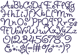 Different Letter Fonts
