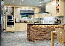 Contemporary Kitchen Design Trends 2014 Unite New Materials Natural Colors And Integrated High Tech
