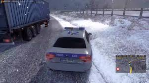 ETS2MP December 2015: Winter Mod + Police Car... Video - Euro Truck ...