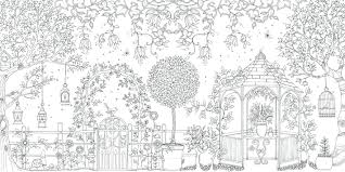 Free Download Secret Garden Coloring Pages For Adults Of Eden Printable Full Size