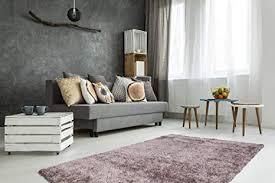 teppich hochflor shaggy modern weich wohnzimmer schlafzimmer handgefertigt taupe