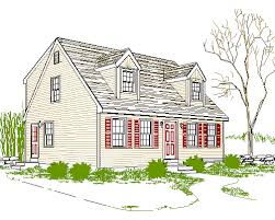 Simple Cape Code Style Homes Ideas Photo by Affordable Cape Cod House Plan House Cod House