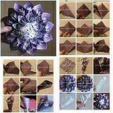 How To Make Paper Blossom Flowers DIY Tutorial Instructions Thumb