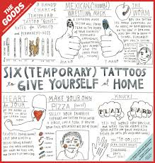 Temporary Tattoos For Children Commissioned By McSweeneys The Goods