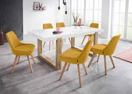 inosign stuhl dilla im 1er und 2er set erhältlich aus pflegeleichtem webstoff bezug und massiven eichenholzbeinen sitzhöhe 48 cm