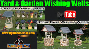 Decorative Outdoor Well Pump Covers by Decorative Ornamental Wishing Wells For Yard Or Garden Youtube