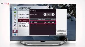 LG Smart TV Smart WiFi Direct