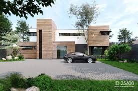 100 Contempory House Timber Clad 5 Bedroom Contemporary House ID 25608