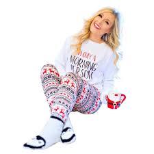 Amazoncom Rudolph RedNosed Reindeer Womens Christmas Minky Sleep