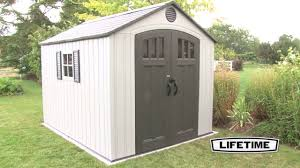Suncast Tremont Shed 8 X 13 by 60202 8x10 Shed Youtube