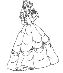 Cinderella Coloring Pages Online