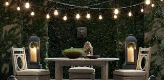 simple outdoor globe string lights party lovers commercial grade