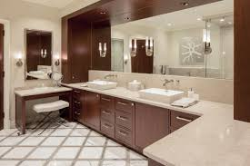 Double Sink Vanity With Dressing Table by Master Bathrooms Hgtv