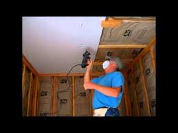 hanging drywall on ceiling tips how i hang sheetrock drywall on the ceiling by myself or