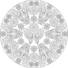 Creative Haven Groovy Mandalas Sample Pages Dover Publications
