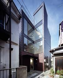 100 Apollo Architects Apollo Architects Thin Vertical Alley House Frames Tokyo Skytree
