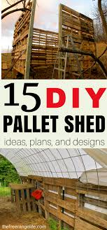 15 DIY Pallet Shed, Barn, And Building Ideas | Pallet Shed, Free ... Wood Pallet Shed Project Make A Sliding Barn Door How To Free Plans Projects With Garage Diy Lehman Lane Best 25 Plans Ideas On Pinterest Garden Shed Roof To Build A Firewood Summer Pallets Firewood 20 Amazing For Repurposing Playhouses 459 Best For Animals Images Woodworking Sheds Designs That Ensure Clean Hot Burning Fire Patio Coop Cstruction Chicken Stuff Coop