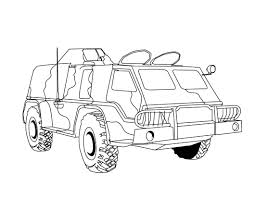 Free Printable Army Coloring Pages For Kids At