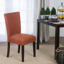 Kirklands Dining Chair Cushions by Orange Dining Parsons Chair Kirklands