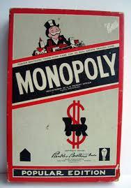 Vintage Monopoly Board Game Box 05