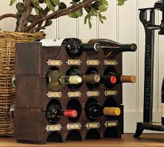 Beautiful Abodes: Let Us Drink & Be Merry! But First, Wine Racks Bar Wonderful Basement Bar Cabinet Ideas Brown Varnished Wood Wine Bottle Rack Pottery Barn This Would Be Perfect In Floating Glass Shelf Rack With Storage Pottery Barn Holman Shelves Rustic Cabinet Bakers Excavangsolutionsnet Systems Bins Metal Canvas Food Wall Mount Kitchen Shelving Corner Bags Boxes And Carriers 115712 Founder S Modular Hutch Narrow Unique Design Riddling