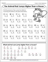 Halloween Multiplication Worksheets Grade 5 by Pictures On Math Worksheets For Elementary Students Wedding Ideas