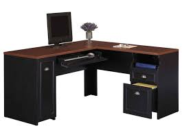 L Shaped Computer Desk With Hutch by Best Black L Shaped Computer Desk Designs Desk Design