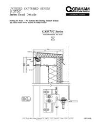 us8375c series unitized curtain wall system graham architectural