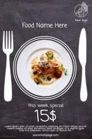 Restaurant Food Sale Free Flyer Template