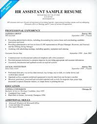 Functional Resume Template Hr Representative Sample Resumes Recruiter Objective Human Resources Free