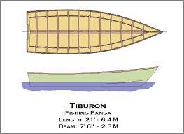 spira international inc tiburon panga wooden boat plans