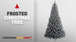 Downswept Slim Christmas Tree by 100 Flocked Downswept Christmas Trees Slim Christmas Trees