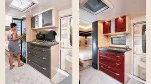 wohnwagen möbel individuell mit folie gestalten caravaning