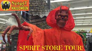 Halloween Express Raleigh Nc by Spirit Halloween Store Animatronic Monsters Youtube
